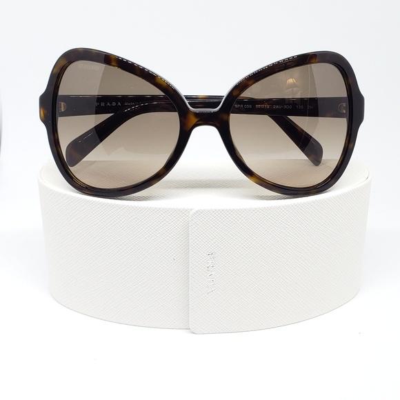 b80a42a9300 Prada Sunglasses Havana w Brown